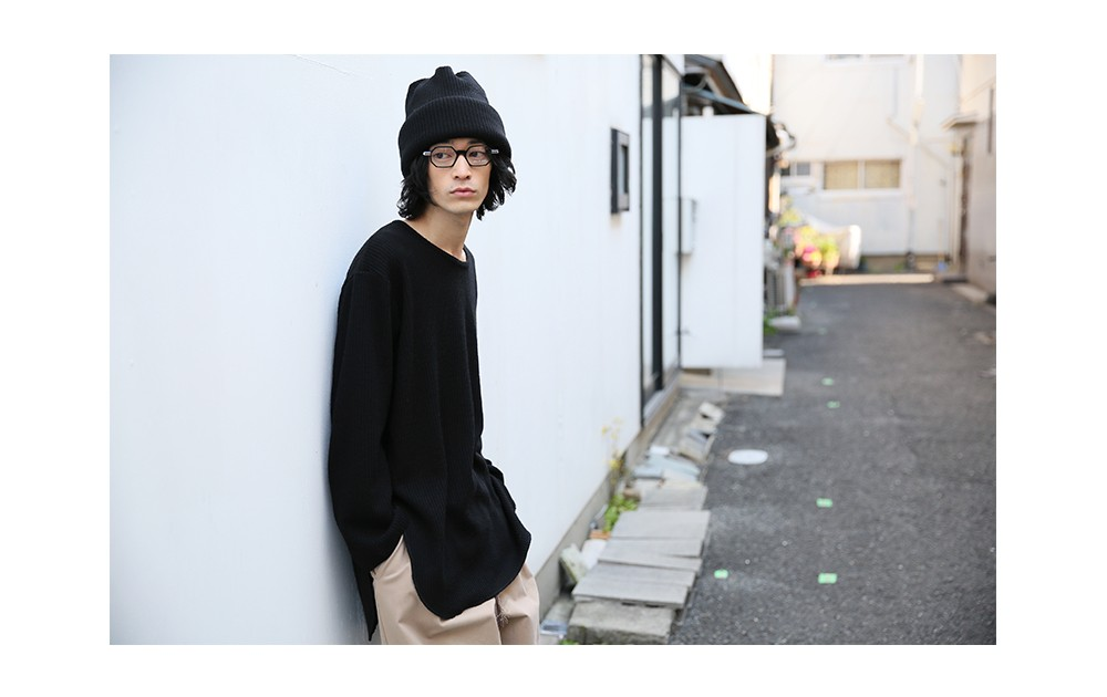 Palm maison MEN Edwina Hoerl 17AW WEBBOOK 兒玉 太智