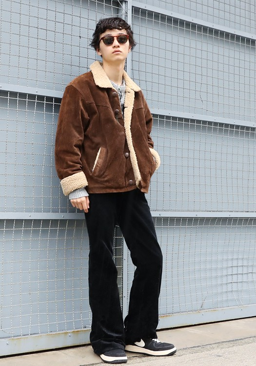 stylehunt,スタイルハント,street style,street snap,ストリートスナップ,fashion snap,ファッションスナップ,yoshi,osaka,URBAN RESEARCH,vintage,Indian jewelry,NIKE AIR FORCE