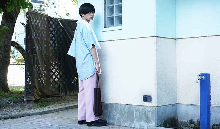 stylehunt,スタイルハント,street style,street snap,ストリートスナップ,fashion snap,ファッションスナップ,japan,men,osaka,isseimiyake,pizza T,kagari yusuke,used,DRESSEDUNDRESSED